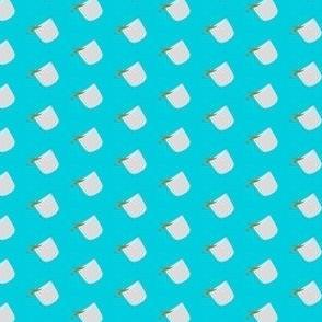 Tea Cup - Light Blue (Small)