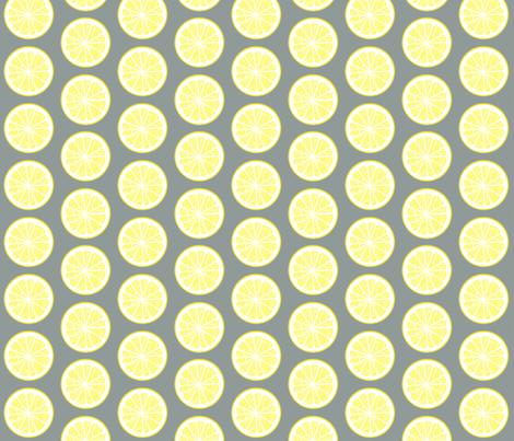Lemonade or tequila? fabric by domoshar on Spoonflower - custom fabric