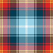 tartan - sailing blanket