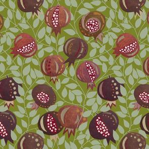 Pomegranate - Leather