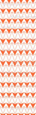 Navajo Triangles-orange