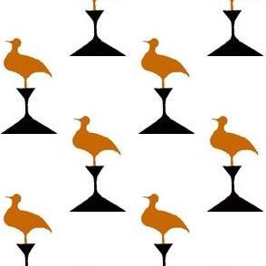 Birds on Pedestals
