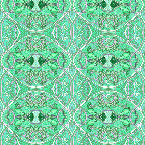 L'oiseau en Cage fabric by edsel2084 on Spoonflower - custom fabric