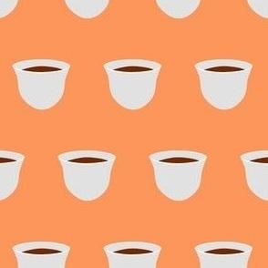 Tea Cup - Light Peach (Small)