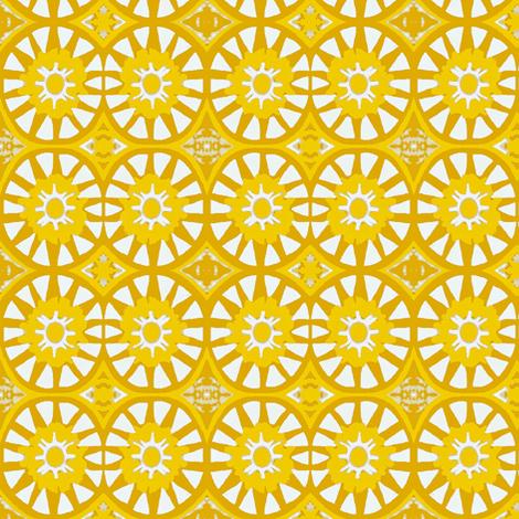 star lemon fabric by dk_designs on Spoonflower - custom fabric
