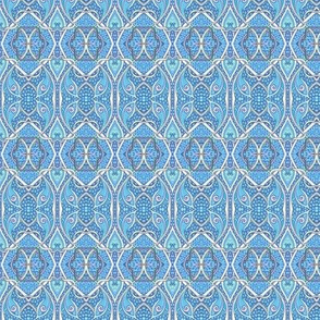 Coordinating Pattern For Blue Bird of Happiness