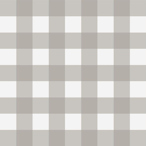 Buffalo Check in Cashmere Grey
