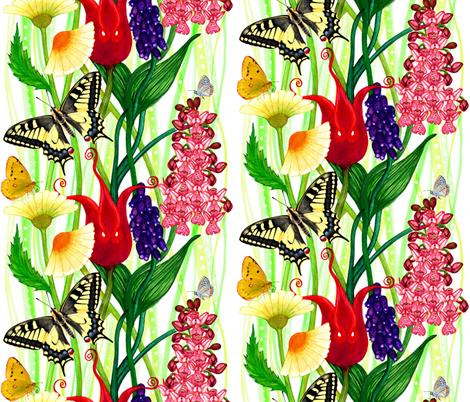 Lesbian Spring fabric by joancaronil on Spoonflower - custom fabric