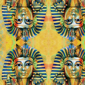 KING TUT colorful/mirrored
