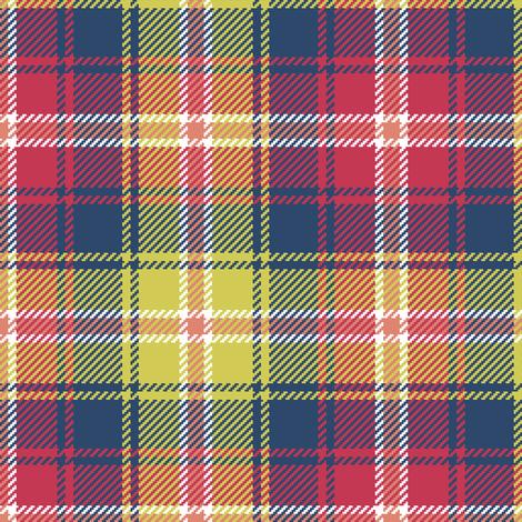 02187206 : tartan : matisse fabric by sef on Spoonflower - custom fabric