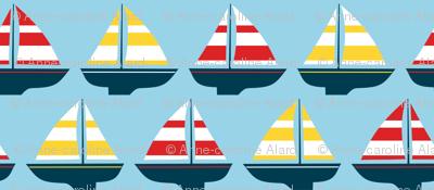 Little boats