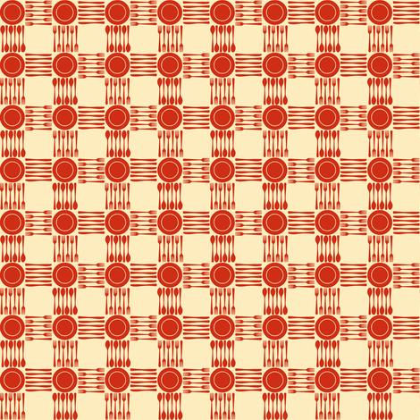 picnic gingham mini fabric by weavingmajor on Spoonflower - custom fabric