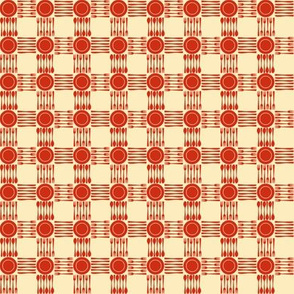 picnic gingham mini