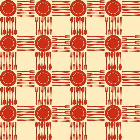 picnic gingham smaller fabric by weavingmajor on Spoonflower - custom fabric