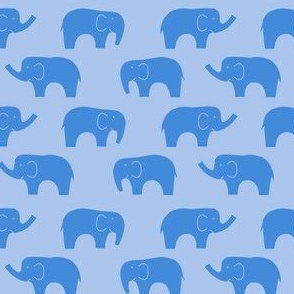 elephant_blue_twotone2