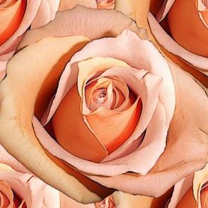 Romantic Roses ~Bright ~ Large