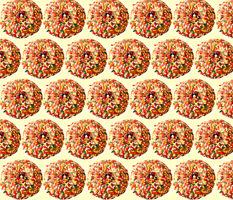 Donut! peng! fabric by cagun on Spoonflower - custom fabric