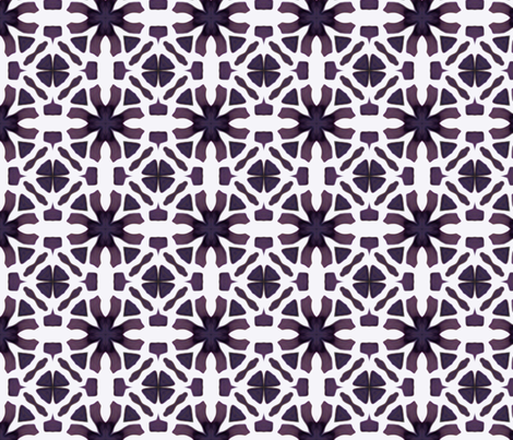 Purple Lacey Design Pattern fabric by lauriekentdesigns on Spoonflower - custom fabric