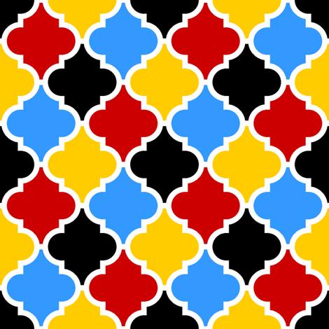 c-rhombus 4 - harlequin fabric by sef on Spoonflower - custom fabric