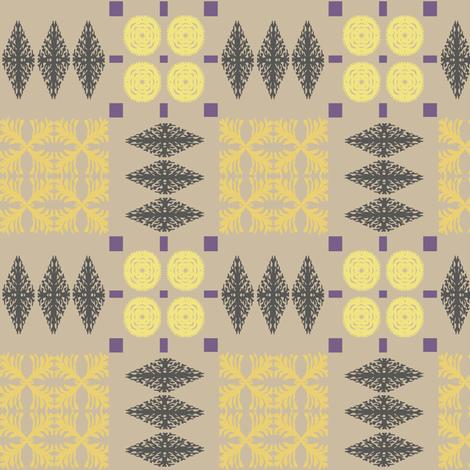 welsh-blanket-herring-gull fabric by bee&lotus on Spoonflower - custom fabric