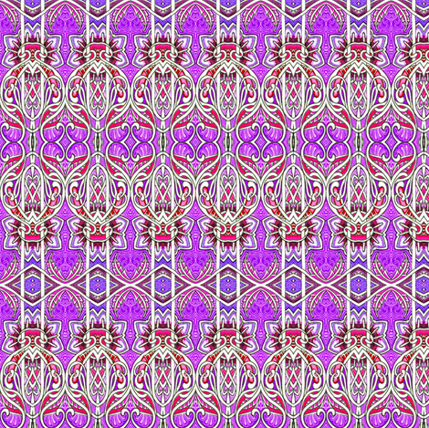 Just Beyond the Gate fabric by edsel2084 on Spoonflower - custom fabric