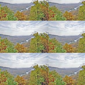 Chimney Rock  in Autumn