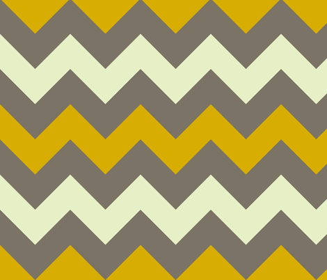 baby elephant chunky chevron large fabric by scrummy on Spoonflower - custom fabric