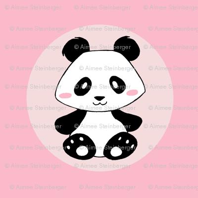 Jingjing's Panda Dots Light Pink