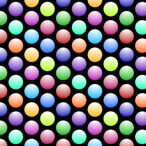 shiny spheres R6 fabric by sef on Spoonflower - custom fabric