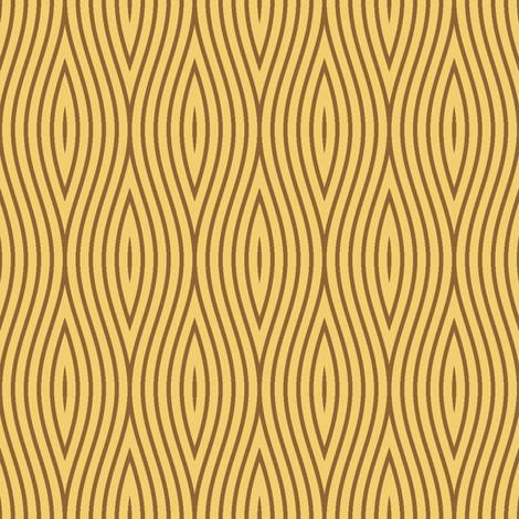 sine grain - pale wood fabric by sef on Spoonflower - custom fabric