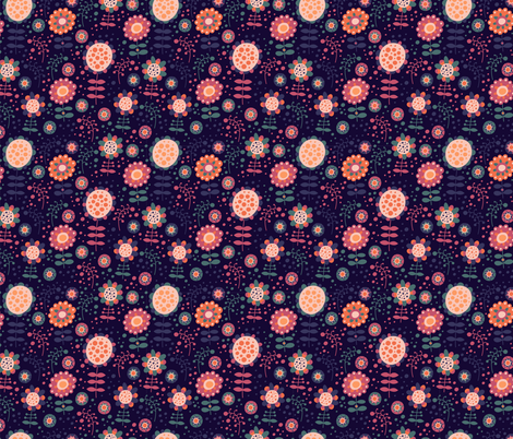 Magic Garden fabric by valendji on Spoonflower - custom fabric