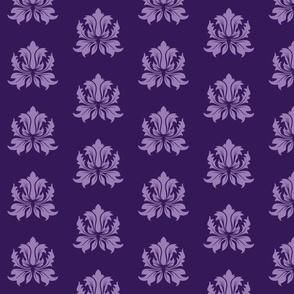 Violet Damask
