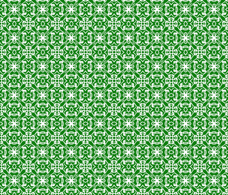 Rosedale in Forest fabric by argenti on Spoonflower - custom fabric