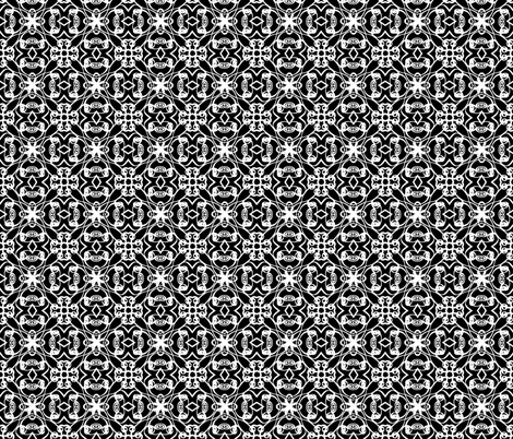 Rosedale in Licorice fabric by argenti on Spoonflower - custom fabric