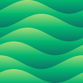 sine wave - rolling hills