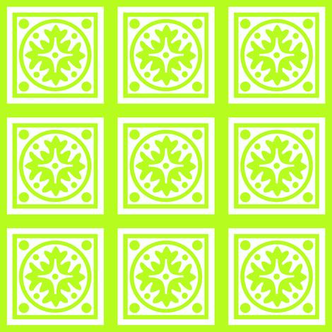 CITRUS_MOTIF_LIME fabric by mammajamma on Spoonflower - custom fabric
