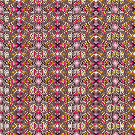 Son of Victorian Gothic (chocolate dipped) fabric by edsel2084 on Spoonflower - custom fabric