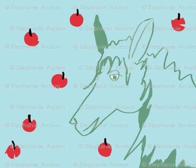 blue_horse_and_apples