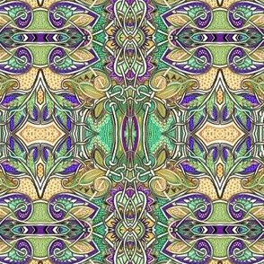 Paisley and Oval Abstract # 2192402