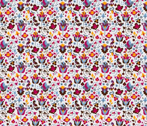 Bright day fabric by valendji on Spoonflower - custom fabric