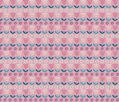 tulips fabric by valendji on Spoonflower - custom fabric