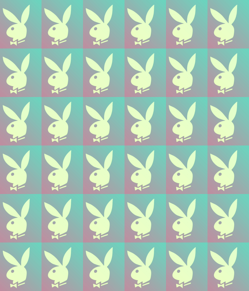Vintage Playboy Bunny Logo Wallpaper Jennifer Masserano Spoonflower