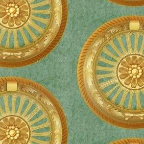 WREATH ornament - green 5inch