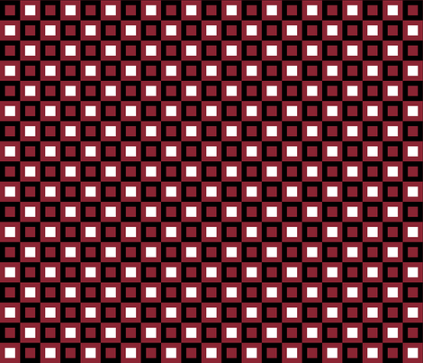 synergy0013 check sin blood and gleam fabric by glimmericks on Spoonflower - custom fabric