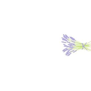 Lavender tea towel (rotated)