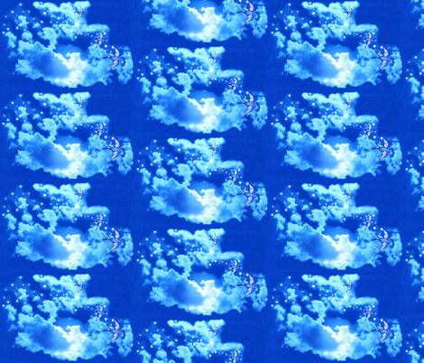 Beauty in the Sky fabric by robin_rice on Spoonflower - custom fabric