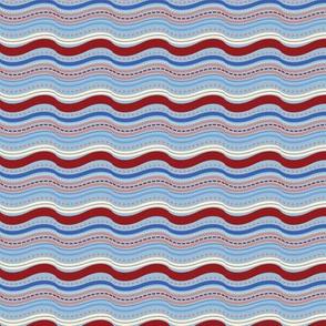 Elephant's Garden (Ruby & Ice)  - Stripes