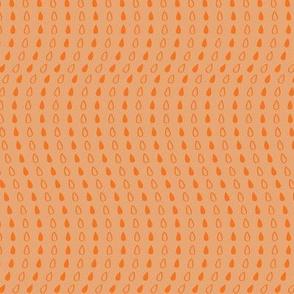Elephant's Garden (Tangerine Violet) - Tangerine Droplets