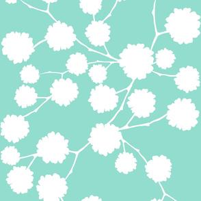 Blossoming - Aqua