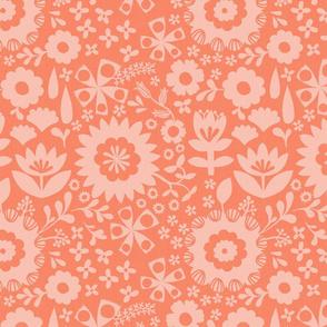 Spring Dream - Peach/Coral